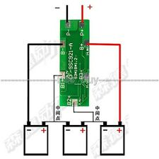 3S 8A 18650 Li-ion Lithium battery Charger Batterie Protection Board