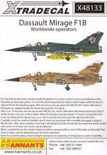 Xtradecal 1/48 Dassault Mirage F.1B # 48133