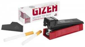Zigarettenstopfer GIZEH Silver Tip Boy Stopfer (Stopfmaschine, Stopfgerät)