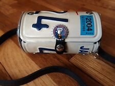 New Little Earth Recycled California CA License Plate Crossbody Purse Bag