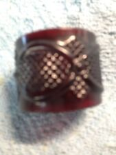 Nos Avon 1876 Cape Cod Ruby Red Napkin Ring