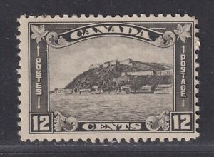 Canada Scott 174 MNH 1930 12c Gray Black Arch Issue Citadel at Quebec SCV $50