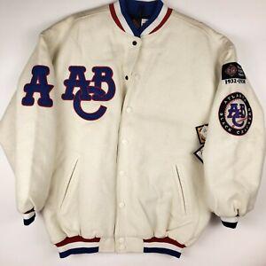 Vintage NWT Atlanta Black Crackers ABC Negro League Baseball Jacket 2XL Headgear