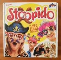 STOOPIDO Family Party Game 1000 Silly Faces Drumond Park 2015 100% Complete
