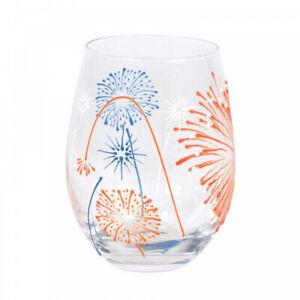 Izzy and Oliver Trinkglas - Feuerwerk / Fireworks *NEU & OVP*