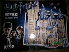 Wrebbit 3D Jigsaw Puzzle 875 pieces HARRY POTTER Hogwarts Astronomy Tower MINT