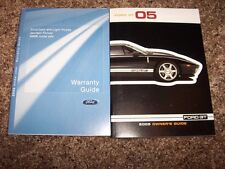 2005 Ford GT Owner Owner's User Guide Operator Manual 5.4L V8