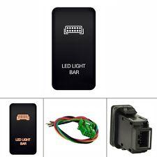 12V Push Switch LED Light Bar For Toyota 4Runner Prado 120 Series 2003-2009 2004