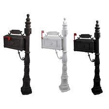 Post Mailbox Combination Stratford Heavy Duty Mail Box Cast Aluminum