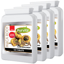 Purvitz Maca Racine Extrait 500mg 480 Comprimés Lepidium Meyenii Naturel