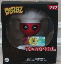 SDCC 2016 EXCLUSIVE FUNKO Dorbz MARVEL CHEF DEADPOOL VINYL FIGURE SOLD OUT LE