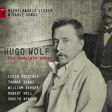 Hugo Wolf: The Complete Songs [CD]