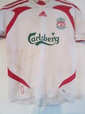 Liverpool 2005-2006 Away Football Shirt Size XL Boys /41243