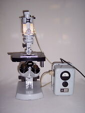Carl Zeiss 47 33 07 - 9902 Microscope with power supply