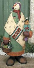 """SNOWMAN - """"Christmas Coziness"""" - 2924 - Williraye - New in Box"""