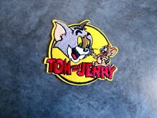 "Tom and Jerry Sequin Jacket Large 13/"" Tall Embroidered Iron on Patch"