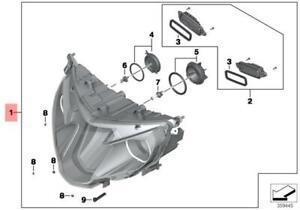 Genuine BMW K52 Headlight OEM 63128541628