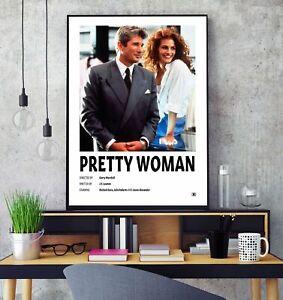 Pretty Woman (1990) Premium Minimalist Movie Poster Print