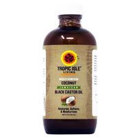"Tropic Isle Living ""Coconut"" Jamaican Black Castor Oil 4oz w/Free Applicator"