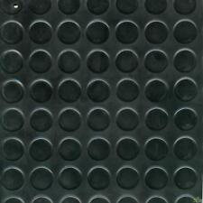 ROTOLO 15x1,25m 18.75mq  COPRIPAVIMENTO COPRI PAVIMENTO GOMMA 3mm BOLLATO NERO