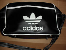 ADIDAS- BAG: VINTAGE, DESIGNED IN WEST GERMANY MADE IN CHINA