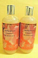 "Bath & Body Works ""JAPANESE CHERRY BLOSSOM"" bubble bath x2"