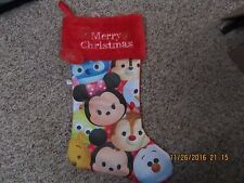 Tsum tsum Disney Christmas stocking New For 2016