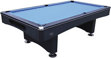 7ft ELIMINATOR 11 BLACK AMERICAN POOL TABLE
