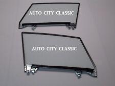 Door Glass Assembled 1956 - 1962 Chevy Corvette Coupe Left Right Pair