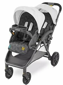 Century Double Baby Stroller Lightweight Twin Buggy Infant Toddler Carriage