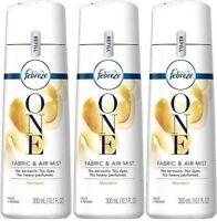 (Pack of 3) Febreze One Fabric Air Mist Refill - Mandarin Scent - 10.1 Ounce