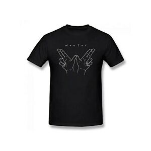 Weezer 'HANDS' Official BLACK NEW T-Shirt : FREE P+P UK Mainland