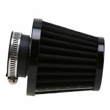 1x Motorcycle Air Filter 47/48/49mm engine inlet Black fit for most motorcycle