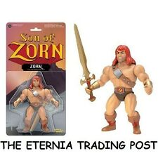 NEW SEALED MOC Funko SON OF ZORN Action Figure With MIGHTY Sword MOTU HE-MAN K.O