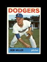 1964 Topps Baseball #394 Bob Miller (Dodgers) EXMT