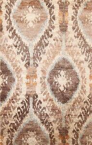 Geometric Modern Moroccan Handmade Oriental Area Rug Indoor/ Outdoor Carpet 4x6
