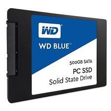 """NEW 500GB WD Blue 2.5""""  SSD Solid State Drive SSD SATA III 6Gb/s 7mm 200 TBW SSD"""