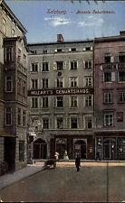 Salzburg Österreich 1912 Geburtshaus Wohnhaus Amadeus Mozart gelaufen frankiert
