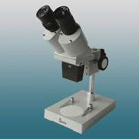 40x-60x Stereo Microscope for PCB Inspection Repairing w/ WF10X WF15X Eyepieces