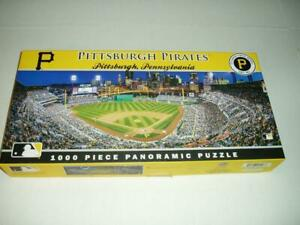Fred Vuich MasterPieces Panoramic Jigsaw Puzzle Pittsburgh Pirates Complete