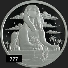 2018 1 oz Flight into Egypt  AG 999 PROOF SILVER SHIELD GROUP SSG 777