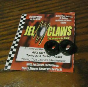 "AFX TURBO / MEGA G _ ""JEL CLAWS"" >REAR TYRE (x1 PAIR) U.S Racing Upgrade Tyres !"