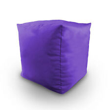 Violet Rempli De Coton Pouf Poire Cube Echelle Tabouret Pouf Siège De Repos