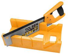 "Tolsen Mitre Box & Fine Tenon Saw 300mm 12"""