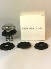 Drain Hair Catches Catcher/Tub Cover/Bathtub Shower Protector Stainless C5