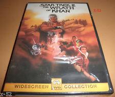STAR TREK II the WRATH of KHAN unopened KIRK SPOCK shatner nimoy Enterprise DVD