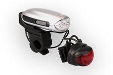 LED Fahrradlicht mit Handkurbel und Handyladefunktion