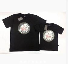 CHICAGO ADULT AND SON SHIRT S-L (EO) - BLACK (FATHER'S SIZE SMALL)