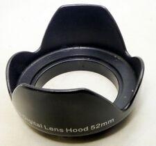 52mm Petalo a Forma Di Plastica Paraluce Vite Su Tipo 18-55mm