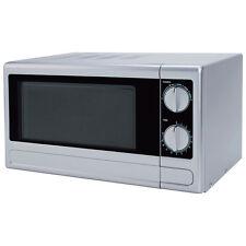 respekta Mikrowelle Unterbau Stand Mikrowelle Farbe silber 700 watt inkl. Timer